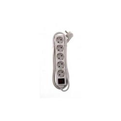 Prelungitor 5 prize 5M cu intrerupator, cablu 3xG1.0mmpm, EXTS-PWS2-505S