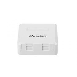 Priza aplicabila Lanberg OK1-0002-W, White