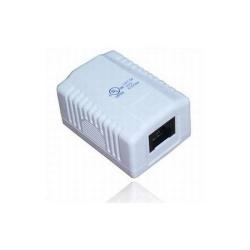 Priza Digitus DN-93804-PL, 1x RJ45, CAT5e, White