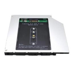 Rack/Caddy 12.5mm pentru SSD M.2 NGFF