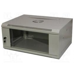 Rack Digitus DN-W19 04U/450, 19inch, 4U, 600x450mm, Grey