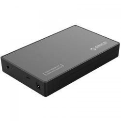 Rack Extern HDD Orico 3588C3, USB 3.0 Type-C - SATA, 3.5inch,  Black