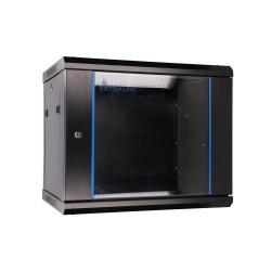 Rack ExtraLink EX.3968, 9U, 600x600, Black