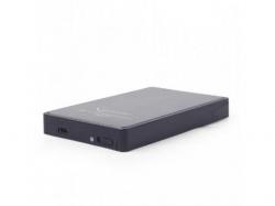 Rack HDD Gembird HDD/SSD, USB 3.1, Black