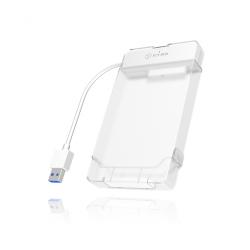 Rack HDD Raidsonic IcyBox, SATA3, USB 3.0, 2.5inch, White