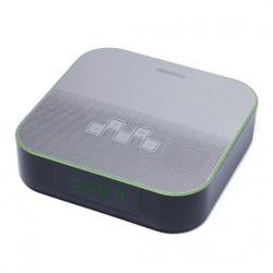 Radio cu ceas Horizon HAV-P4180, Black-Silver