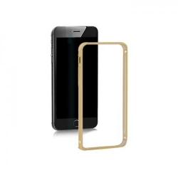 Rama de protectie Qoltec 51354 din aluminiu, pentru Apple iPhone 6, Gold