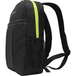 Rucsac Dicallo LLB1020 pentru laptop de 15.6inch, Black/Green
