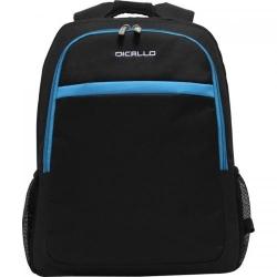 Rucsac Dicallo LLB9256B pentru laptop de 15.6inch, Black/Blue