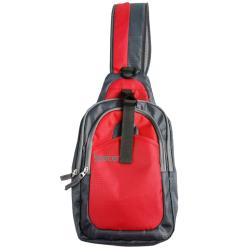 Rucsac Spacer Sling pentru laptop, Red-Black