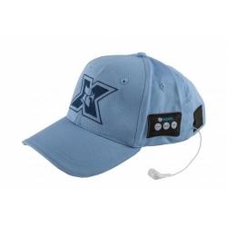 Sapca cu casti Bluetooth Serioux BLT-CAP02, Blue