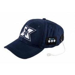 Sapca cu casti Bluetooth Serioux BLT-CAP03, Dark Blue