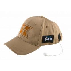 Sapca cu casti Bluetooth Serioux BLT-CAP05,Khaki