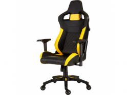 Scaun Gaming Corsair T1 RACE 2018, Black-Yellow