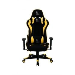 Scaun gaming Gembird Scorpion 05, Black-Yellow