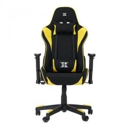 Scaun gaming Serioux Torin TXT, Black-Yellow