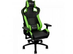 Scaun gaming Tt eSPORTS by Thermaltake GT Fit, Black- Green