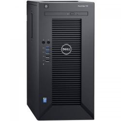 Server Dell PowerEdge T30 Tower, Intel Xeon E3-1225 v5, RAM 1x 8GB, HDD 1x 1TB, PSU 290W, No OS