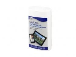 Set curatare Logilink RP0010- servetele umede,100pcs/box