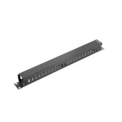 Sistem management cabluri Lanberg type A, 19inch/1U, Black