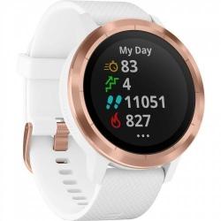 Smartwatch Garmin Vivoactive 3, White-Rose Gold