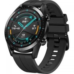 SmartWatch Huawei WATCH GT 2 B19S 46mm, 1.39inch, Curea silicon, Matte Black