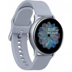 SmartWatch Samsung Galaxy Watch Active 2 (2019), 1.2 inch, curea silicon, Silver Cloud