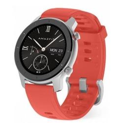 Smartwatch Xiaomi Amazfit GTR 42mm, Silver-Coral red