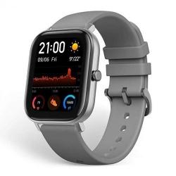 Smartwatch Xiaomi AmazFit GTS, 1.65 inch, curea silicon, Lava Grey