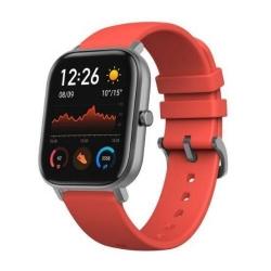 Smartwatch Xiaomi AmazFit GTS, 1.65 inch, curea silicon, Vermillion Orange