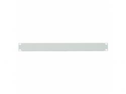 Solid Blank Panel Logilink, 19inch, 1U, Grey
