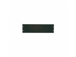 Solid Blank Panel Logilink, 19inch, 4U, Black