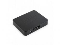 Splitter KVM Gembird, 2x HDMI, Black