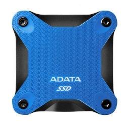 SSD portabil ADATA SD600Q, 240GB, USB 3.1, Blue