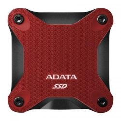 SSD portabil ADATA SD600Q, 240GB, USB 3.1, Red