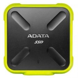 SSD Portabil ADATA SD700, 256GB, USB 3.1, Yellow