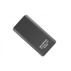 SSD portabil GOODRAM HL100, 256GB, USB 3.2, Black