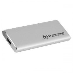 SSD Portabil Transcend ESD240C 120GB, USB 3.1 Tip C, Silver