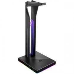 Stand casti Asus ROG Throne, RGB LED, Black
