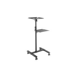 Stand Logilink BP0069 pentru videoproiector/laptop, Black