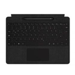 Stand Microsoft Surface Pro X Signature pentru tableta de 12.3inch cu tastatura, Black + Stylus