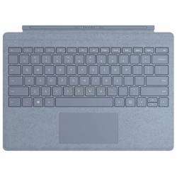 Stand Microsoft Surface Pro X Signature pentru tableta de 12.3inch cu tastatura, Ice Blue + Stylus