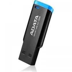 Stick Memorie A-Data Small Clip UV140 32GB, USB3.0 Black/Blue