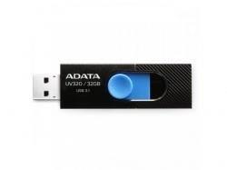 Stick Memorie AData UV320 32GB, USB 3.1, Black-Blue