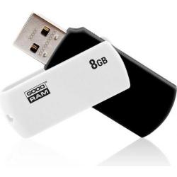 Stick memorie Goodram UCO2, 8GB, USB 2.0, Black-White