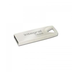 Stick memorie Integral ARC 16GB, USB 2.0, Silver