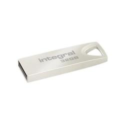 Stick memorie Integral ARC 32GB, USB 2.0, Silver