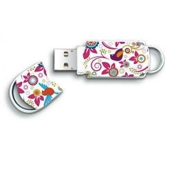 Stick memorie Integral Xpression Birds 16GB, USB 2.0, Multicolor