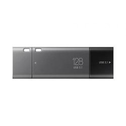 Stick Memorie Samsung DUO Plus 128GB, USB-C/USB 3.1, Black-Grey
