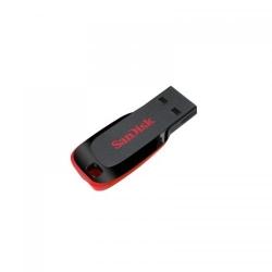 Stick Memorie SanDisk Cruzer Blade 128GB, USB2.0, Black/Red